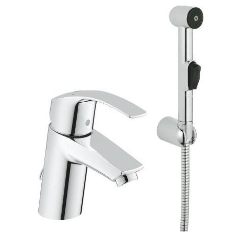 Grifo lavabo monomando con teleducha bide grohe eurosmart - Grifo termostatico grohe ...