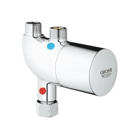 Termostato oculto para mezclador lavabo cocina grohtherm for Lavabo cocina