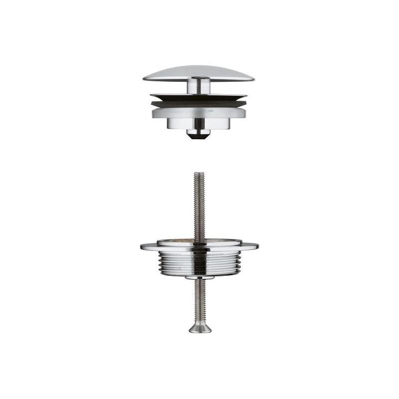 Valvula de desague lavabo 1 1 4 65808000 grohe for Valvula desague lavabo