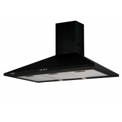 CAMPANA DECORATIVA PARED CATA OMEGA BK NEGRA
