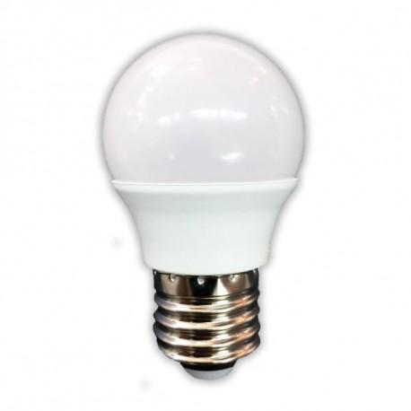 BOMBILLA LED ESFERICA 6W E27 JUERIC INVEST 10 unidades LUZ CALIDA