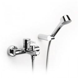 grifo baño ducha monomando targa roca cromado