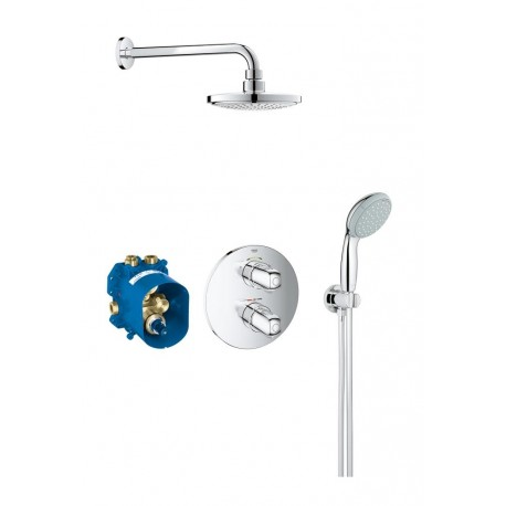 Conjunto ducha empotrable termostatico grohe grohtherm for Duchas grohe precios