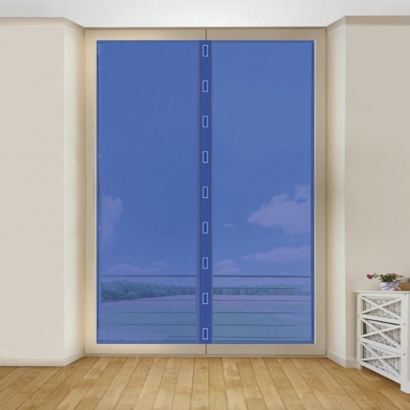 Mosquitera para puerta con velcro 75x220 cm habitex for Velcro para mosquitera