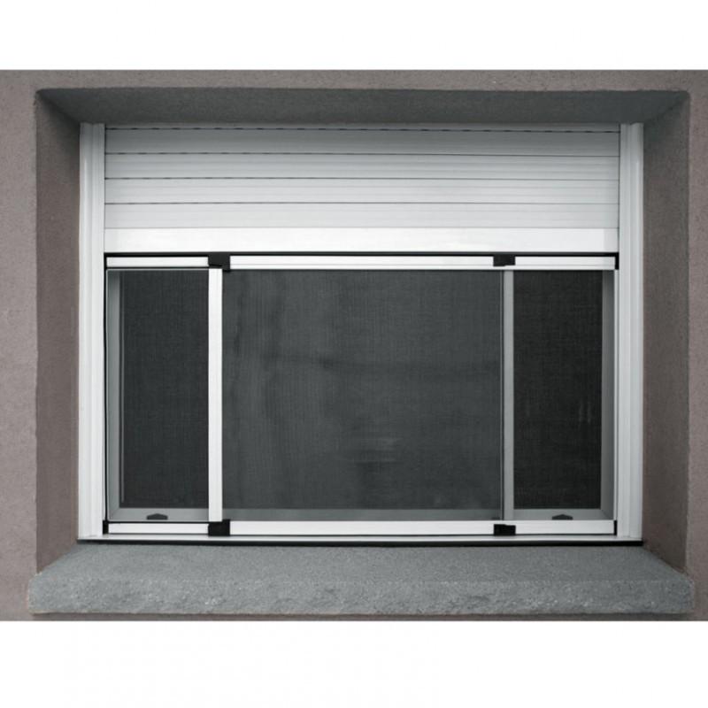 marco mosquitera ventana de aluminio fija extesible 70-134xh50 cm ...