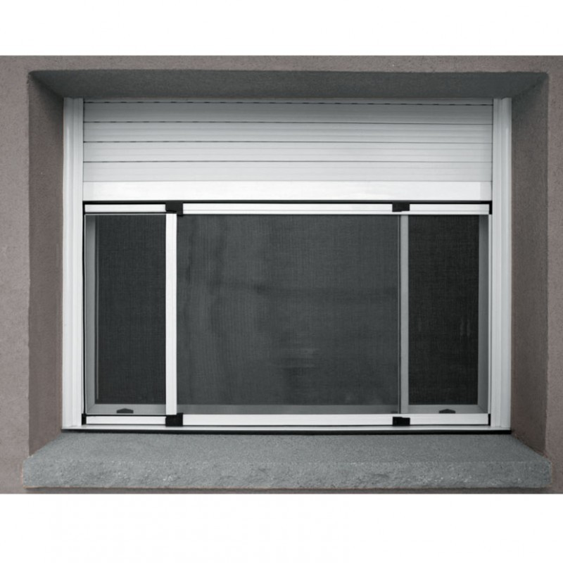 Marco mosquitera ventana de aluminio fija 100 192xh70 cm for Marcos de ventanas de aluminio