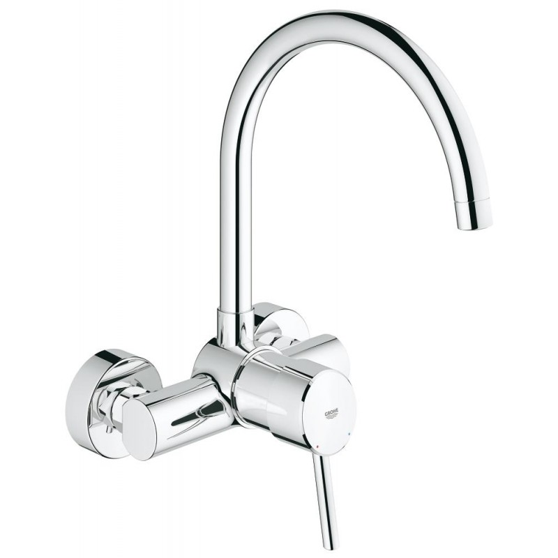 Grifo cocina grohe concetto new 32667001 for Grifo grohe cocina extraible