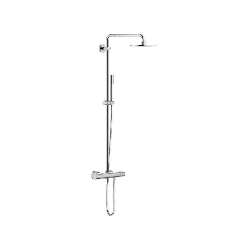 Conjunto ba o ducha termostatica rainshower system 210 grohe for Conjunto ducha termostatica