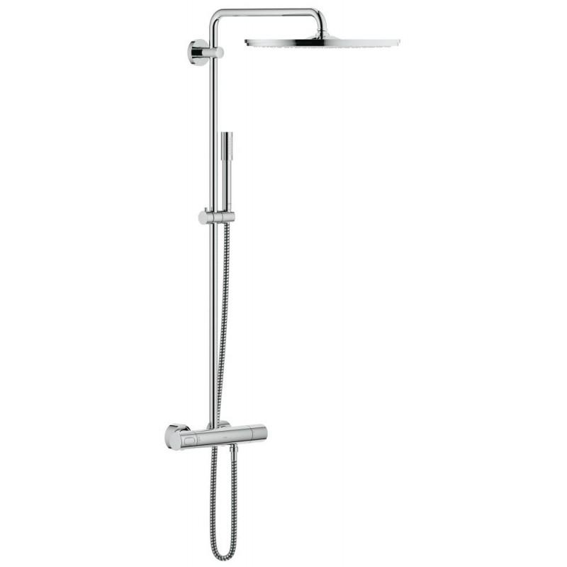 Conjunto ducha termostatico rainshower system 400 grohe for Conjunto ducha grohe