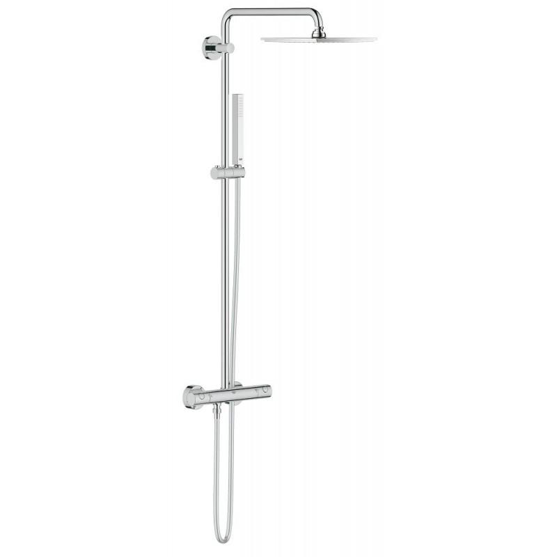 Conjunto ducha termostatica euphoria xxl 230 grohe 26187000 for Conjunto ducha termostatica