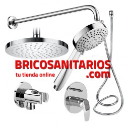 PACK EMPOTRADO DUCHA BASIC MONOMANDO ROCA A5D0518C00