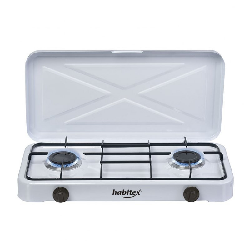 Cocina portatil 2 fuegos habitex - Cocina portatil gas ...