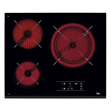 VITROCERAMICA TEKA TZ 6315 60 CM TRES FUEGOS CRISTAL 40239030