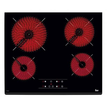 VITROCERAMICA TEKA TZ 6415 60 CM CUATRO FUEGOS CRISTAL 40239040