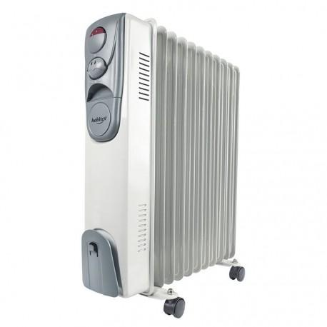 RADIADOR PORTATIL ELECTRICO ACEITE HABITEX SERIE E16 E17 E18 CON RUEDAS