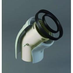 codo coaxial 45 60/100 macho hembra caldera condensacion fig