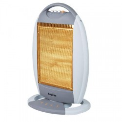 Calefactor eléctrico movil Habitex E344 cuarzo 1200w.