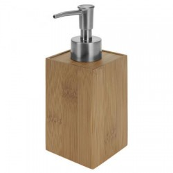 DISPENSADOR JABON BAÑO BAMBU