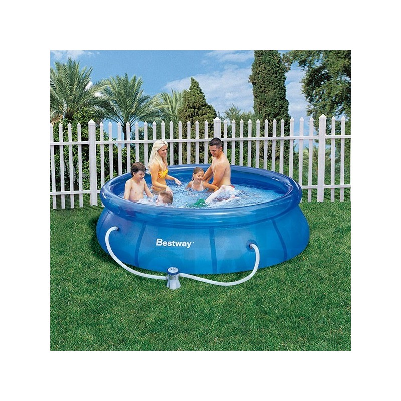 Piscina bestway 305x76 cm con depuradora for Depuradora piscina