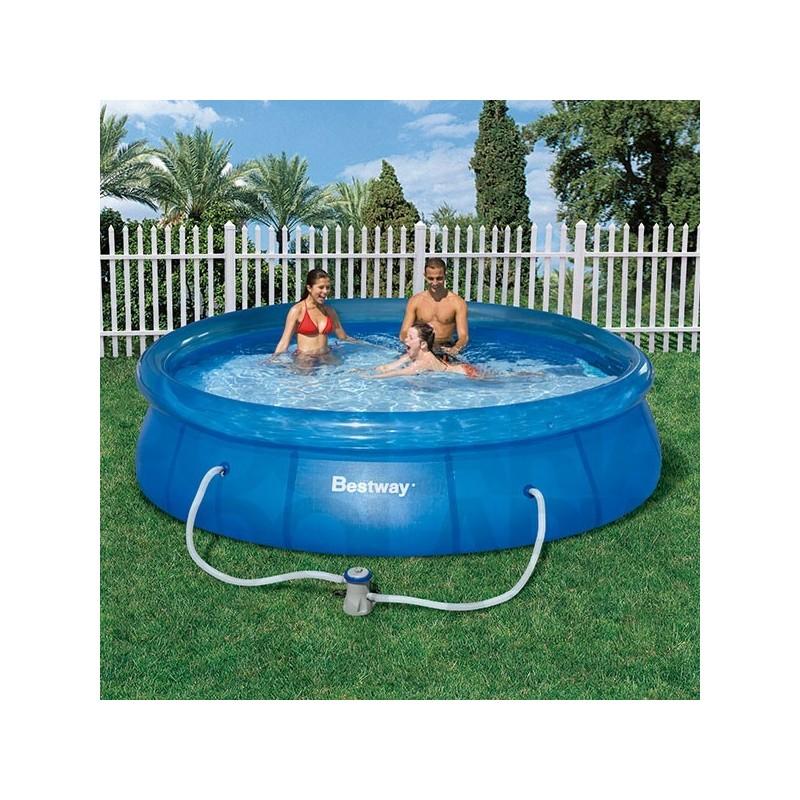 Piscina bestway 366x76 cm con depuradora for Depuradora piscina