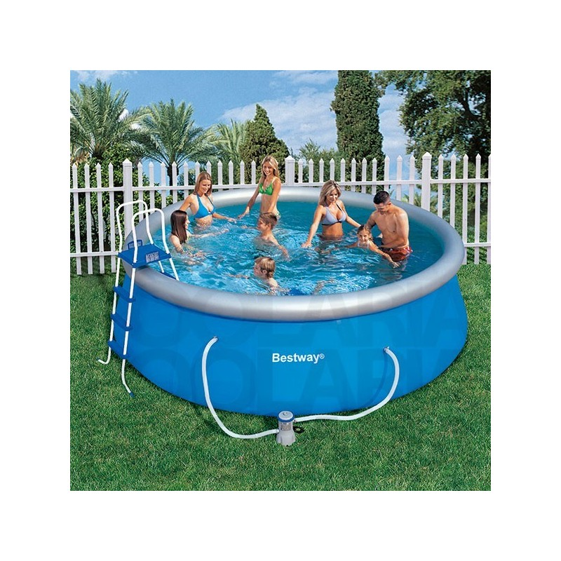 Piscina bestway 457x122 cm con depuradora for Piscina 457 x 122