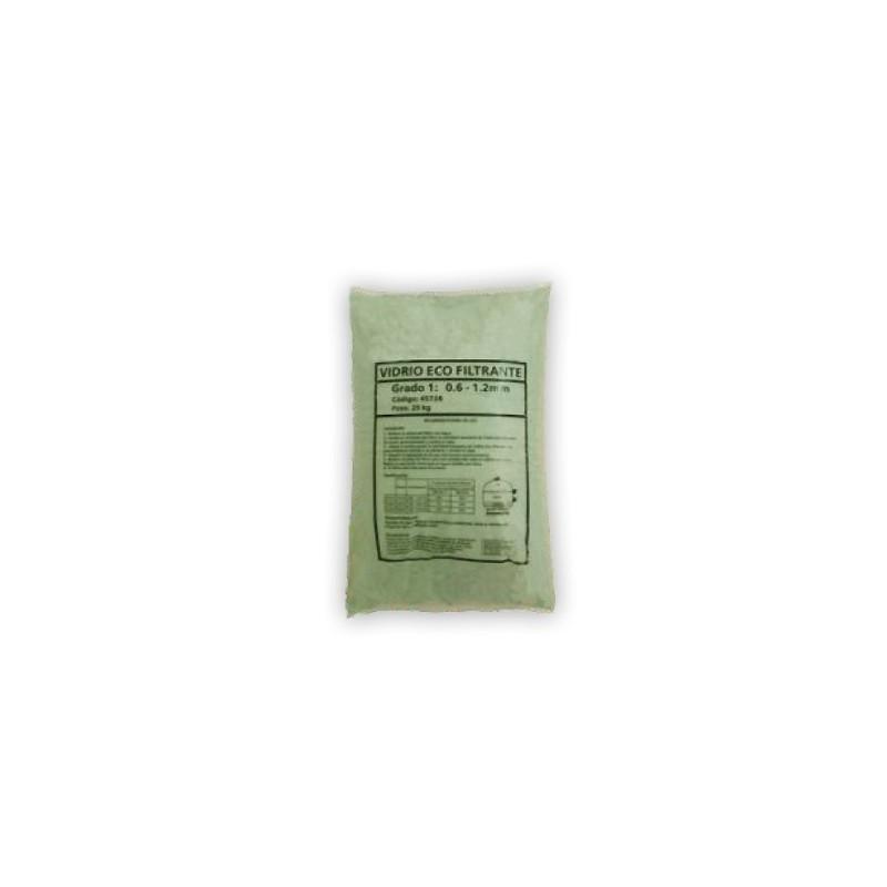 Vidrio eco filtrante para piscinas 25 kg 3 7mm - Vidrio filtrante para piscinas ...