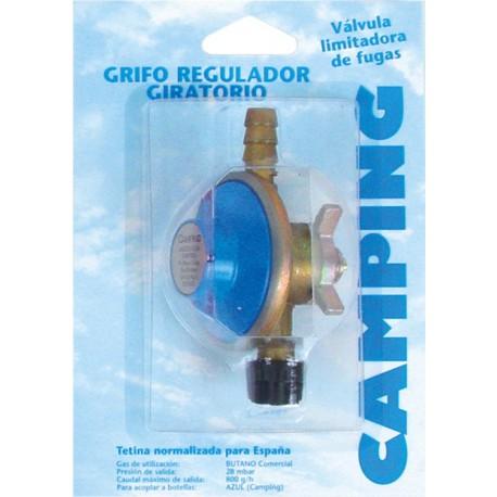 GRIFO REGULADOR GIRATORIO GAS CAMPINGAZ