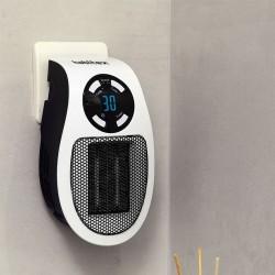 Calefactor mini portatil sin cavle enchufe hq349 Habitex