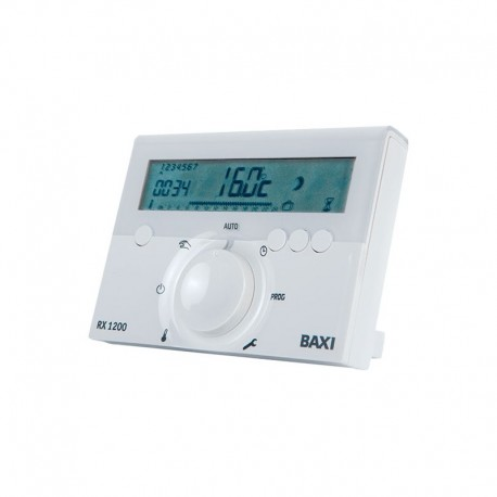 Termostato ambiente inalambrico digital programable Baxi RX 1200 7216911