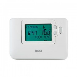 TERMOSTATO AMBIENTE DIGITAL PROGRAMABLE BAXI PROGRAMABLE CON CABLES TX 1500 7216912