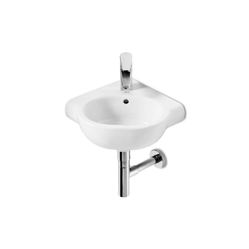 Lavabo angular meridian de roca for Precios de lavabos roca