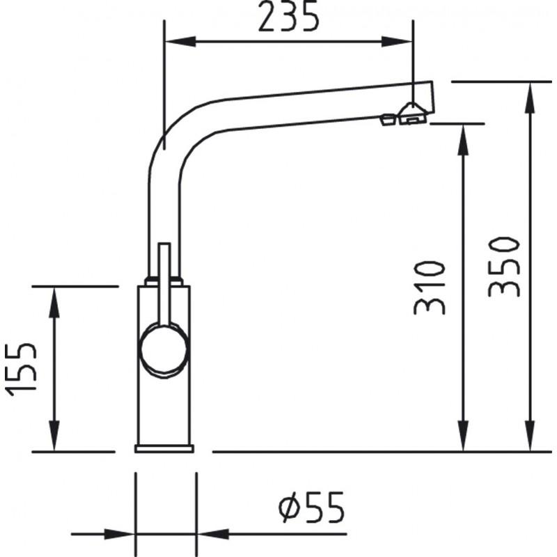 Grifo osmosis clever caiman 97806 for Grifos para osmosis