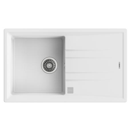 fregadero blanco granito stone 50b-tg 1c 1e teka 115330026
