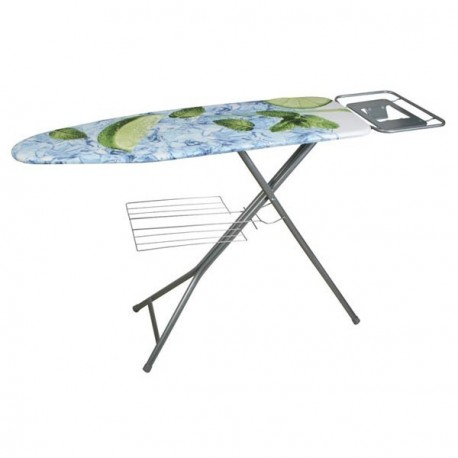 TABLA PLANCHAR CON REJILLA PORTA-ROPA HABITEX