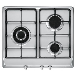 Encimera balay 3etx395np gas natural inox tres fuegos for Placa cocina gas butano