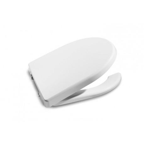 asiento y tapa inodoro wc roca access apertura frontal a801230004