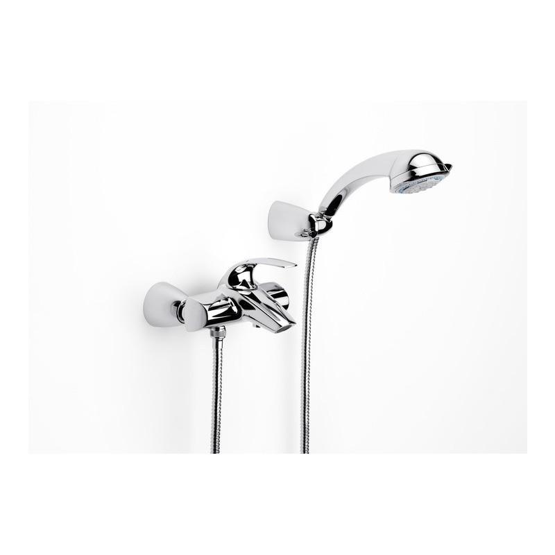 Grifo monomando ba o ducha roca m2 a5a0168c00 for Precio m2 alicatado bano