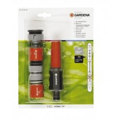 LANZA RIEGO Y CONECTORES GARDENA 13/15mm