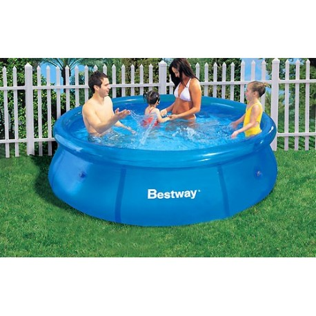 Piscina bestway sin depuradora portatil 244x66cm for Piscina portatil grande