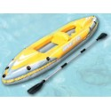 KAYAK HINCHABLE DOS PLAZAS WAVE LINE BESTWAY