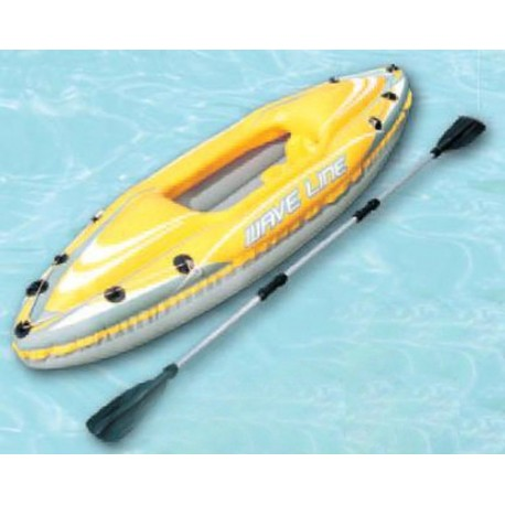 KAYAK HINCHABLE UNA PLAZA WAVE LINE BESTWAY