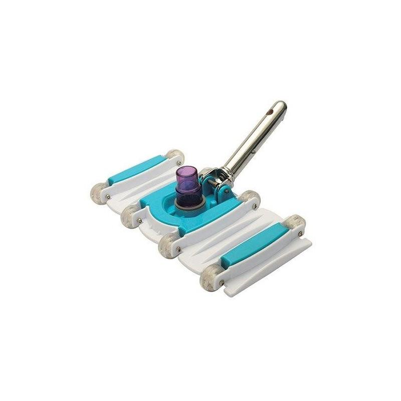 Limpiafondos Piscina Flexible Fijacion Clip Quimicamp