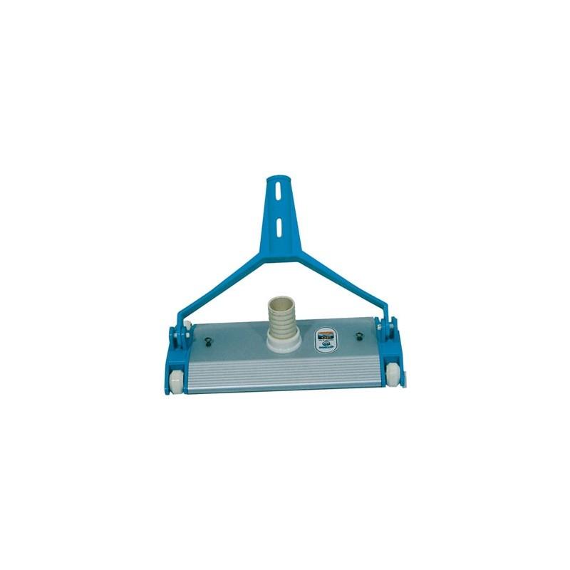 Limpiafondos piscina metalico fijacion clip quimicamp for Quimicamp piscinas