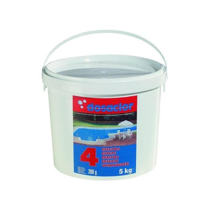 Cloro dosaclor 4 efectos 5kg quimicamp for Quimicamp piscinas