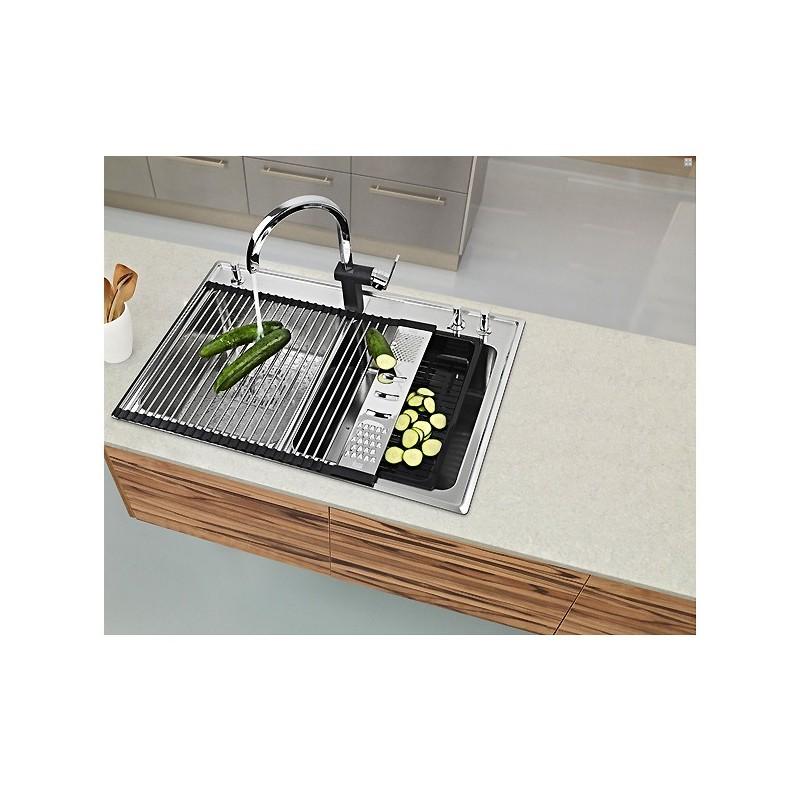 Escurridor fregadero enrollable teka multigrater rolling profi - Teka accesorios cocina ...