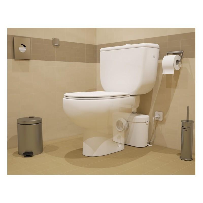 Saniaccess 1 triturador sanitrit sfa con easy access for Inodoro access