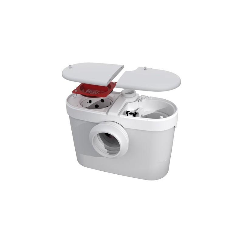 Saniaccess 3 triturador sanitrit sfa con easy access ba o - Inodoro con triturador ...