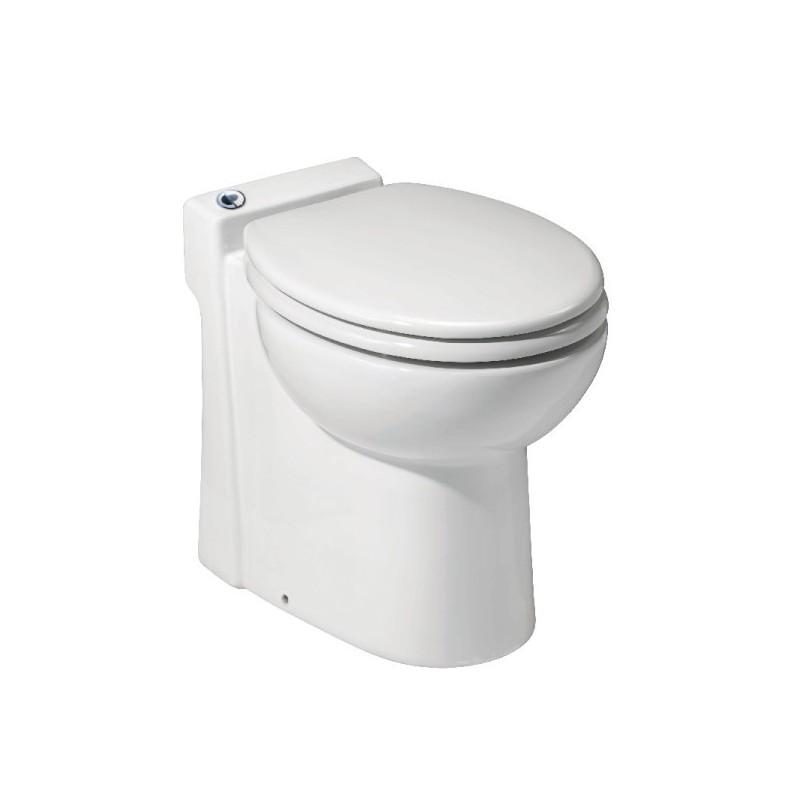 Sanicompact c4 inodoro con triturador sfa sanitrit for Bomba trituradora inodoro precio