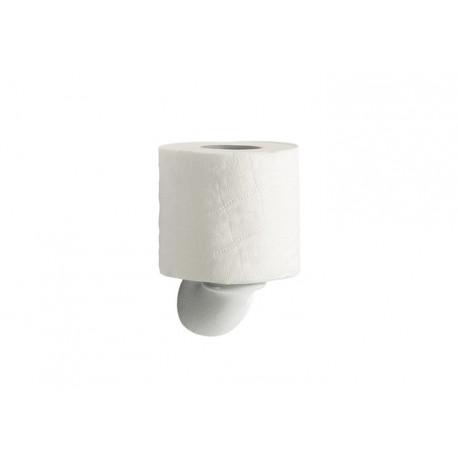Portarrollo reserva para ba o onda plus roca porcelana for Accesorios de bano roca