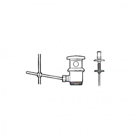 Desague para lavabo bide automatico de 1 1 4 roca for Valvula desague lavabo
